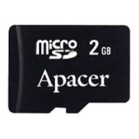 SD-micro Card 2048MB Apacer <AP2GMCSD2A-R> (2 adapter) (Ret)