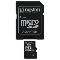 SD-micro Card 4Gb Kingston Class 10 SDC10/4GB