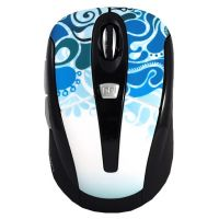 CROWN CMM-927W Wireless Mouse Blue USB