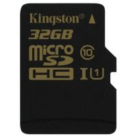 SDHC-micro Card 32Gb Kingston UHS-I Class 10 SDCA10/32GBSP