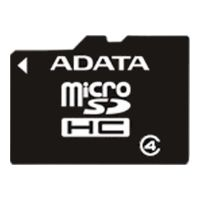 SDHC-micro Card 16Gb A-Data AUSDH16GCL4-RA1 Class 4 + adapter