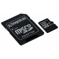 SDHC-micro Card 16Gb Kingston Class 10 SDC10G2/16GB