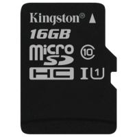 SDHC-micro Card 16Gb Kingston Class 10 SDC10G2/16GBSP