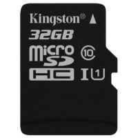 SD-micro Card 32Gb Kingston UHS-I Class 10 (SDC10G2/32GBSP)