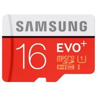 SDHC-micro Card 16Gb Samsung EVO Plus (MB-MC16DA/RU) + Adapter