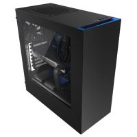 NZXT S340 CA-S340MB-GB Black/Blue (без БП)