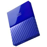 2.5 4Tb Western Digital My Passport WDBYFT0040BBL-WESN Blue (USB3.0)